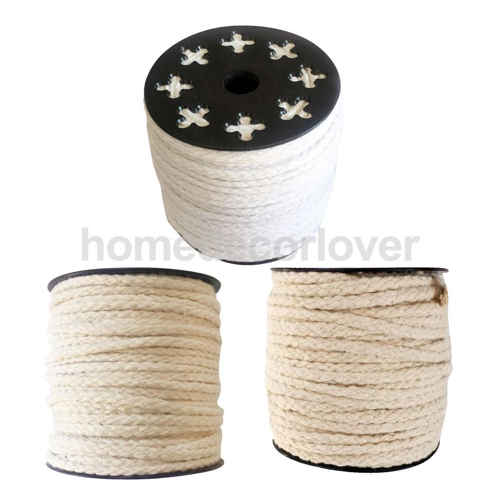 2019 Multi Purpose Natural Twisted Cotton Rope Clothesline Rope