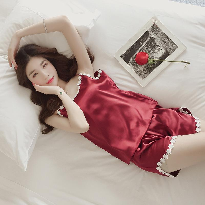 2019 Womens Pajamas Lace Women Pajamas Set Clothing For Women Homewear  Indoor Clothing Lady Lovely Cute For Women S Sleepwear From Unclouded01 991086316