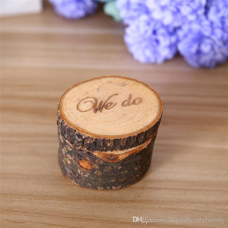 2018 Wholesale Wooden Ring Box Country Style Wedding Ring Box WE DO ...