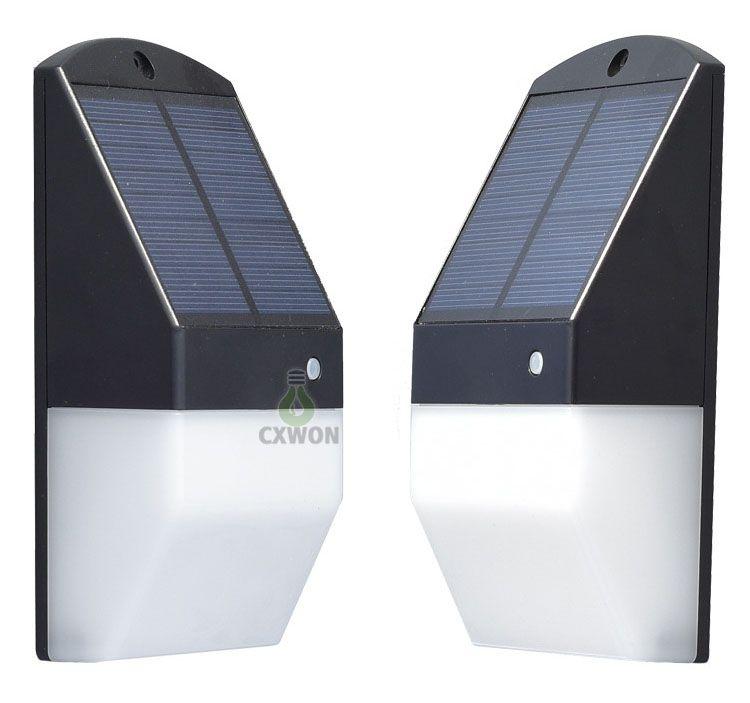 Großhandel Solar Led Außenleuchten Drahtlose Wasserdichte Sicherheitsbeleuchtung Für Deck Zaun Terrasse Haustür Wand Treppe Landschaft Hof Und