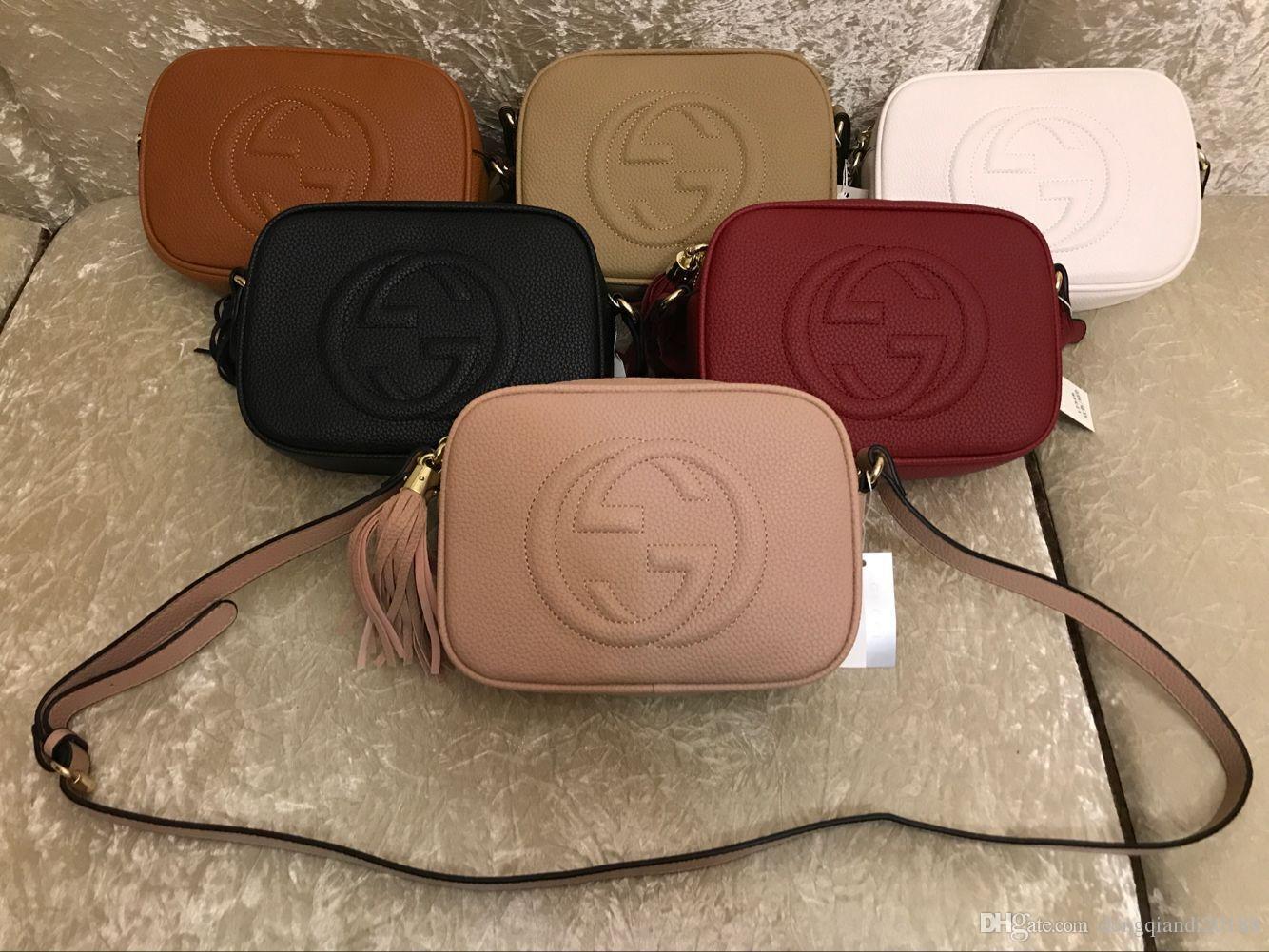 7c60da9cb9eccb 2018 HOT Disco Leather Shoulder Bag Messenger Soho Bag 308364 Handbag Bag  308364 Online with $26.35/Piece on Dengqiandi20188's Store   DHgate.com