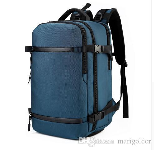 New Large Capacity Travel Backpacks Men S 17.3Inch Laptop Backpack School  Bags Multi Functional Waterproof Travel Male Mochila UK 2019 From  Marigolder 3f4844d9caa8d