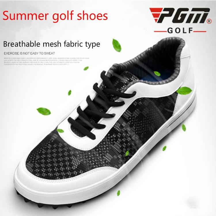 2018 PGM Golf Shoes Summer Ultra Light Breathable Anti Skid Non Crease Mesh  Shoes For Men Golf Sneakers Plus Size UK 2019 From Fopfei 640ca1bd7d1
