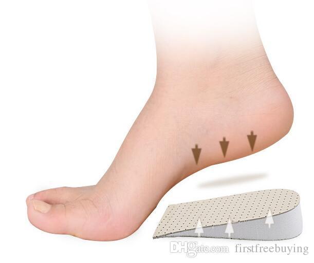 Erkekler Kadınlar Silikon Jel Topuk Yastık Tabanlık Tabanı Rahatlatmak Ayak Ağrısı Koruyucusu Spur Destek Ayakkabı Pad Yüksek Topuk Ekler