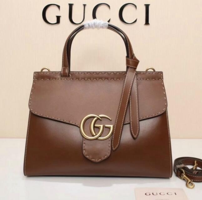 548918c35b43 HOT 421890 ORIGINAL BROWN LEATHER WOMAN BAG HANDBAG Hobo HANDBAGS TOP  HANDLES BOSTON CROSS BODY MESSENGER SHOULDER BAGS Boho Bags Bags For Sale  From ...