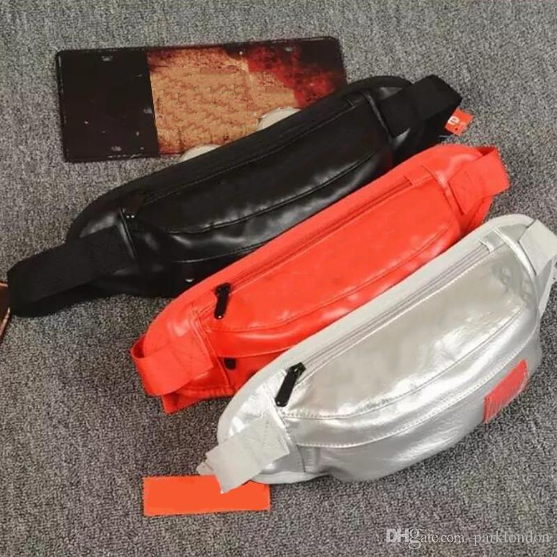 2019 heiße Hüfttasche Unisex Oxford Stoff Hüfttasche Brusttasche PU Leder Männer Casual Praktische Umhängetasche