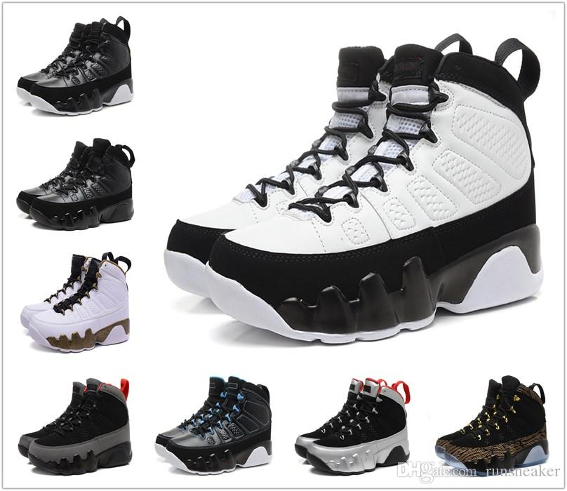 7278e82ed2d9b2 2018 New 9 9s Men Basketball Shoes OG Space Jam Tour Yellow PE Anthracite  The Spirit Kilroy Doernbecher Release Sports Sneakers Size7 13 Trail  Running Shoes ...