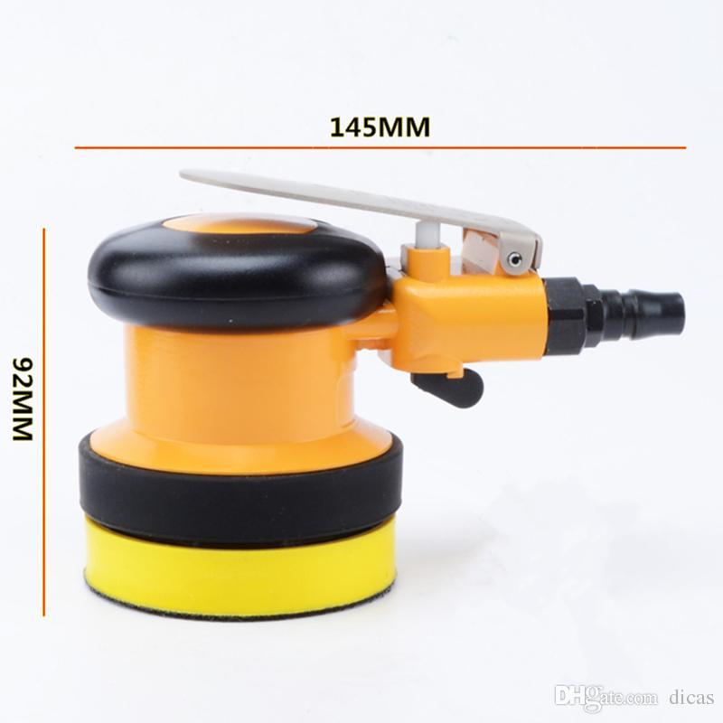 Ücretsiz kargo 3 veya 4 inç eksantrik pnömatik zımpara taşlama makinesi hava parlatma makinesi kuru taşlama aracı rüzgar araba ağda combo set