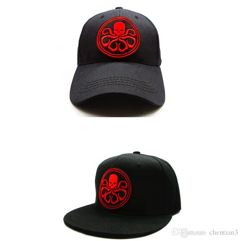 2018 Octopus Animal Embroidery Cotton Baseball Cap Hip Hop Cap Adjustable  Snapback Hats For Kids And Adult Size 215 Caps Hats Fitted Cap From  Chentian3 f61719a50b9