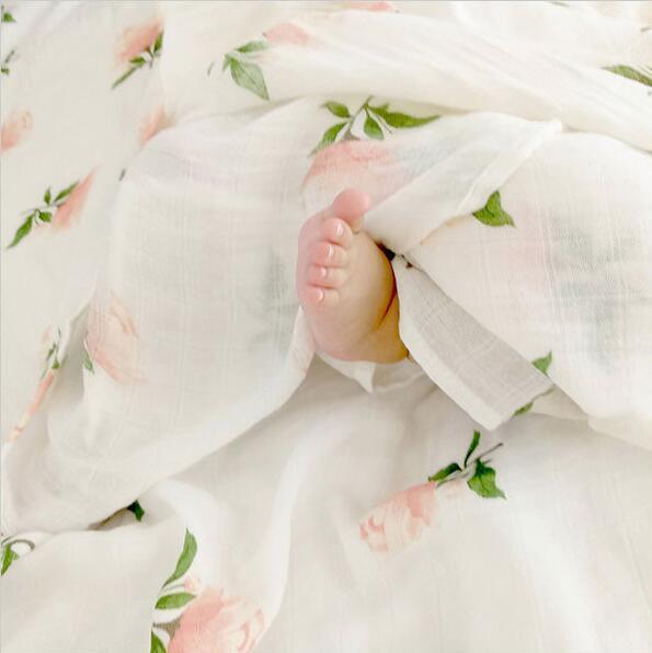 multi use baby nursing blanket 47 x 47in organic muslin cotton blankets factory baby swaddle wrap