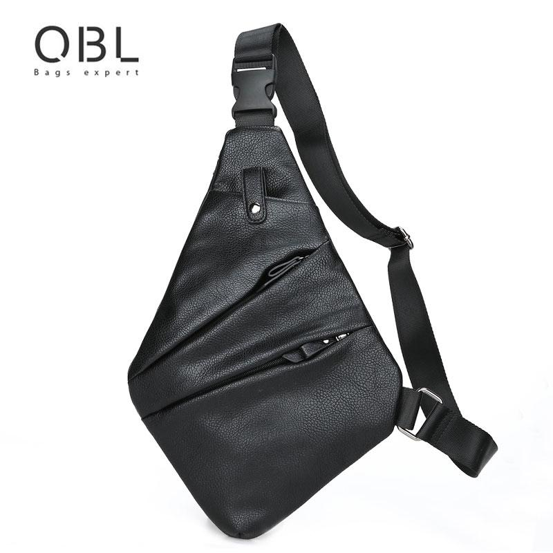 781b9e717657 QiBoLu 2017 Sling Bags Men Single Shoulder Crossbody Chest Bag For Man  Sacoche Homme Bolsa Masculina Bandolera Hombre 6307 Cheap Bags Side Bags  From ...