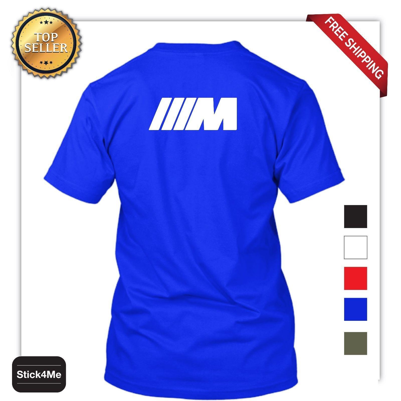 Details Zu M3 M5 M Logo Car Racing T Shirt High Quality Sports Car
