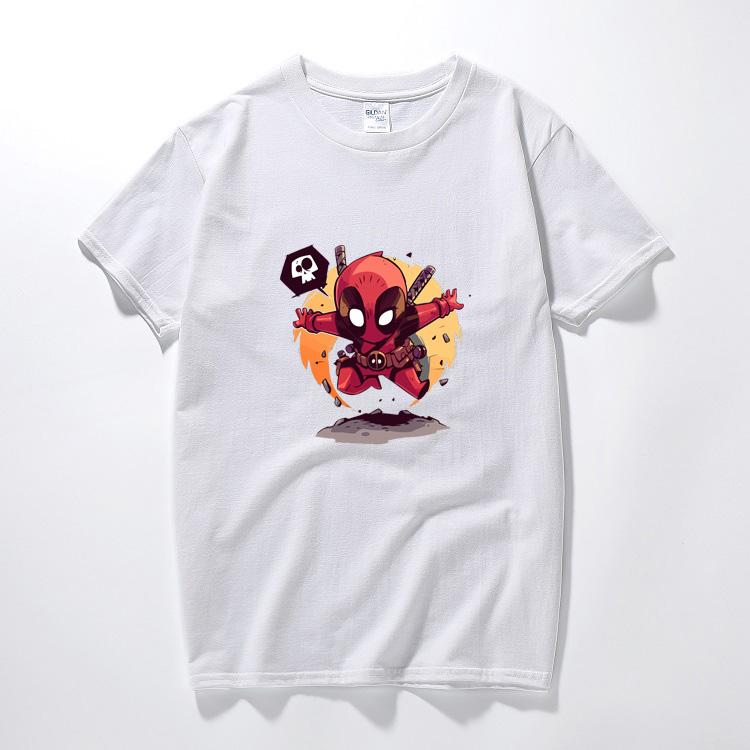 d5376ab8 Deadpool 2 Cosplay Costume T Shirt 2018 3d Black Men Women Boy Marvel  Cotton Funny T Shirt For Kids Cartoon Summer Geek Top Tees Ridiculous T  Shirts One Day ...