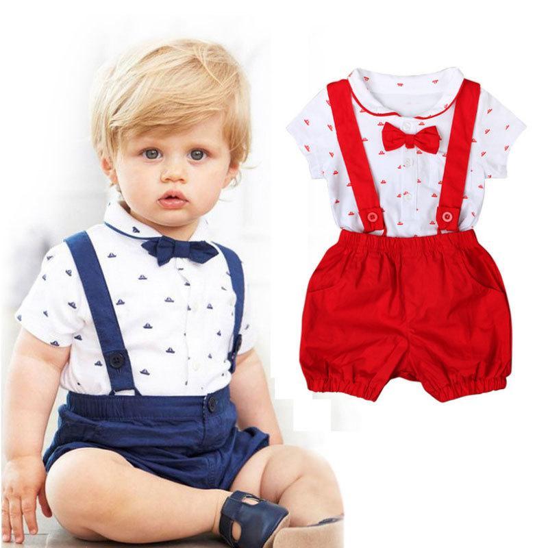 Compre nuevo estilo de ropa de bebé conjuntos arco traje recién jpg 800x800  Algodón trajes para 16e62fa6a06