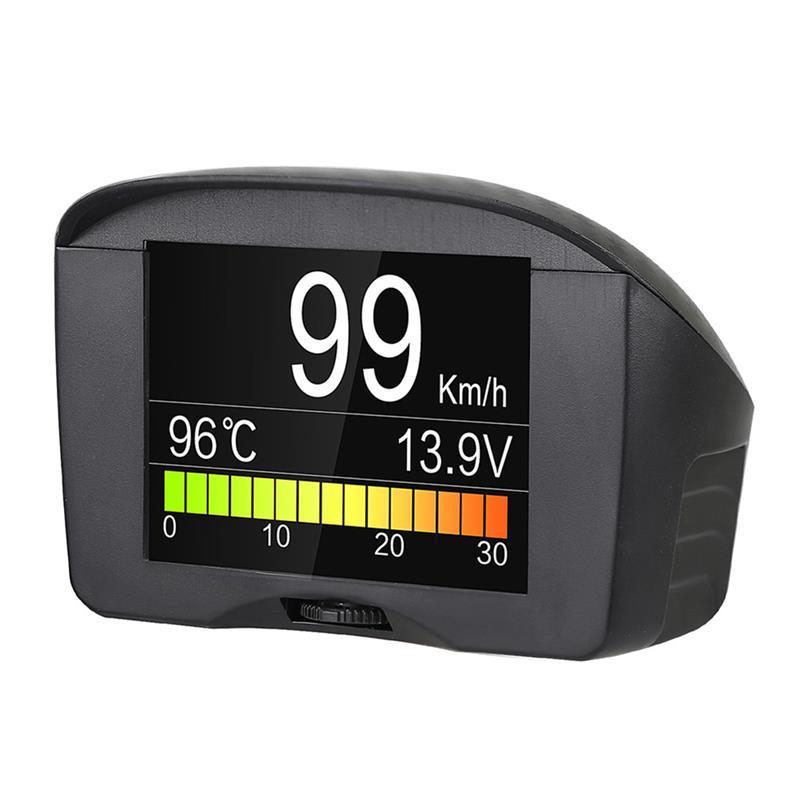 diagnostic tool Multi-Function Car OBD Smart Digital Meter Alarm Fault Code  Water temperature gauge voltage speed meter display