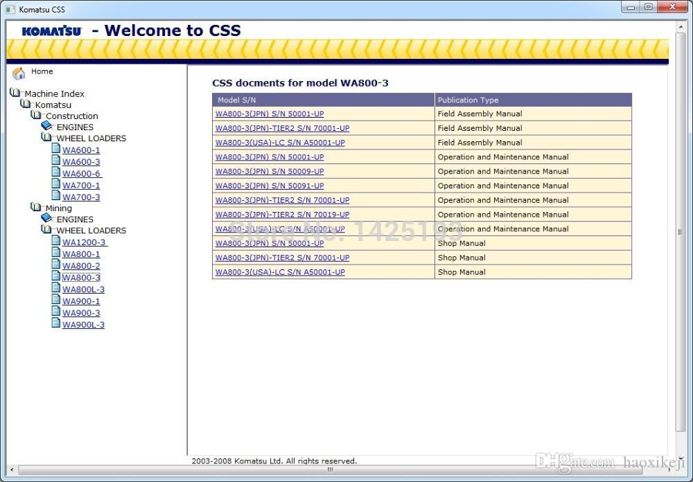 komatsu pc160lc 7 operation and maintenance manual