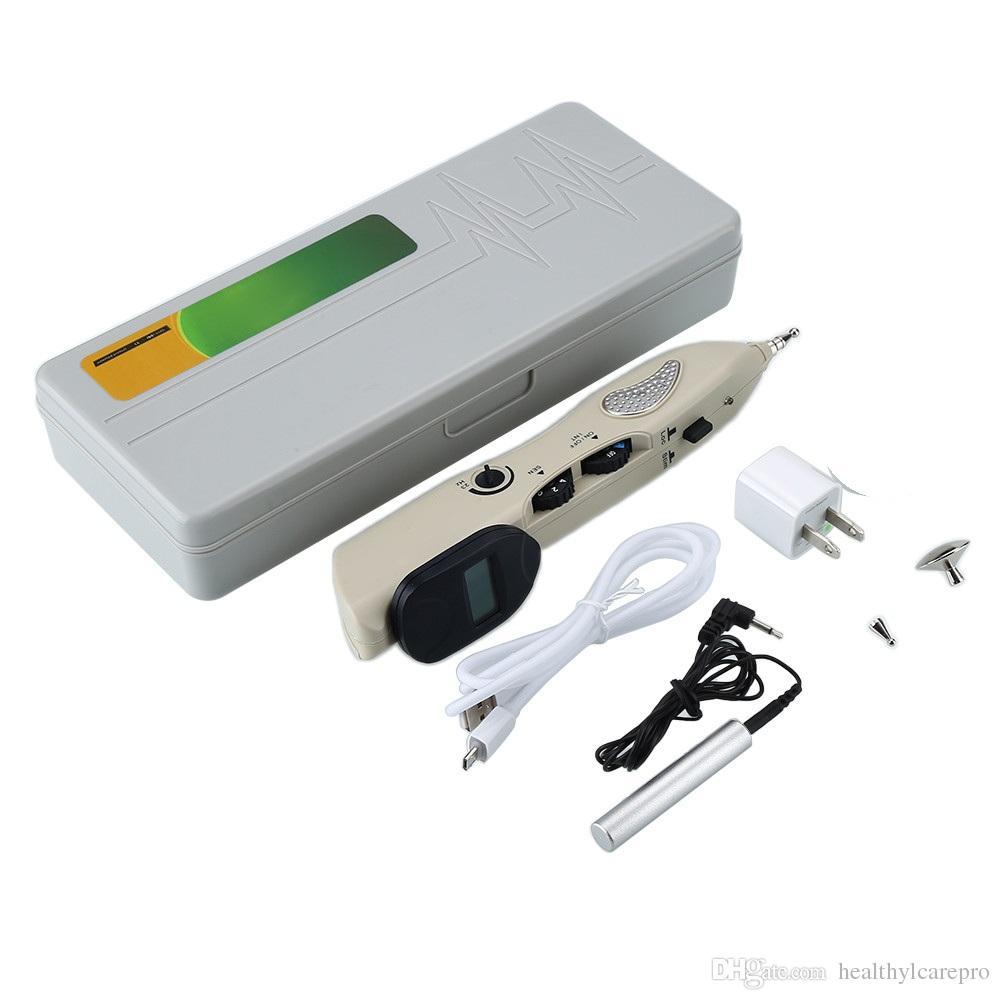 디지털 전자 침술 장치 마사지 펜 포인터 환류 스틱 활성화 자오선 통증 내구성