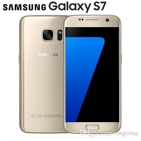 Original unlocked Samsung Galaxy S7 4GB RAM 32GB ROM Smartphone 5 1 12MP  Quad Core NFC 4G LTE Cellphone s7 Android phone