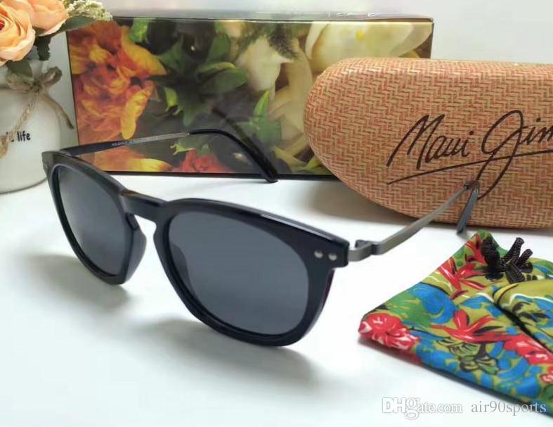 4655940488c Brand Designer Maui Jim 262 Hookipa Sunglasses MJ262 Men Women MJ ...