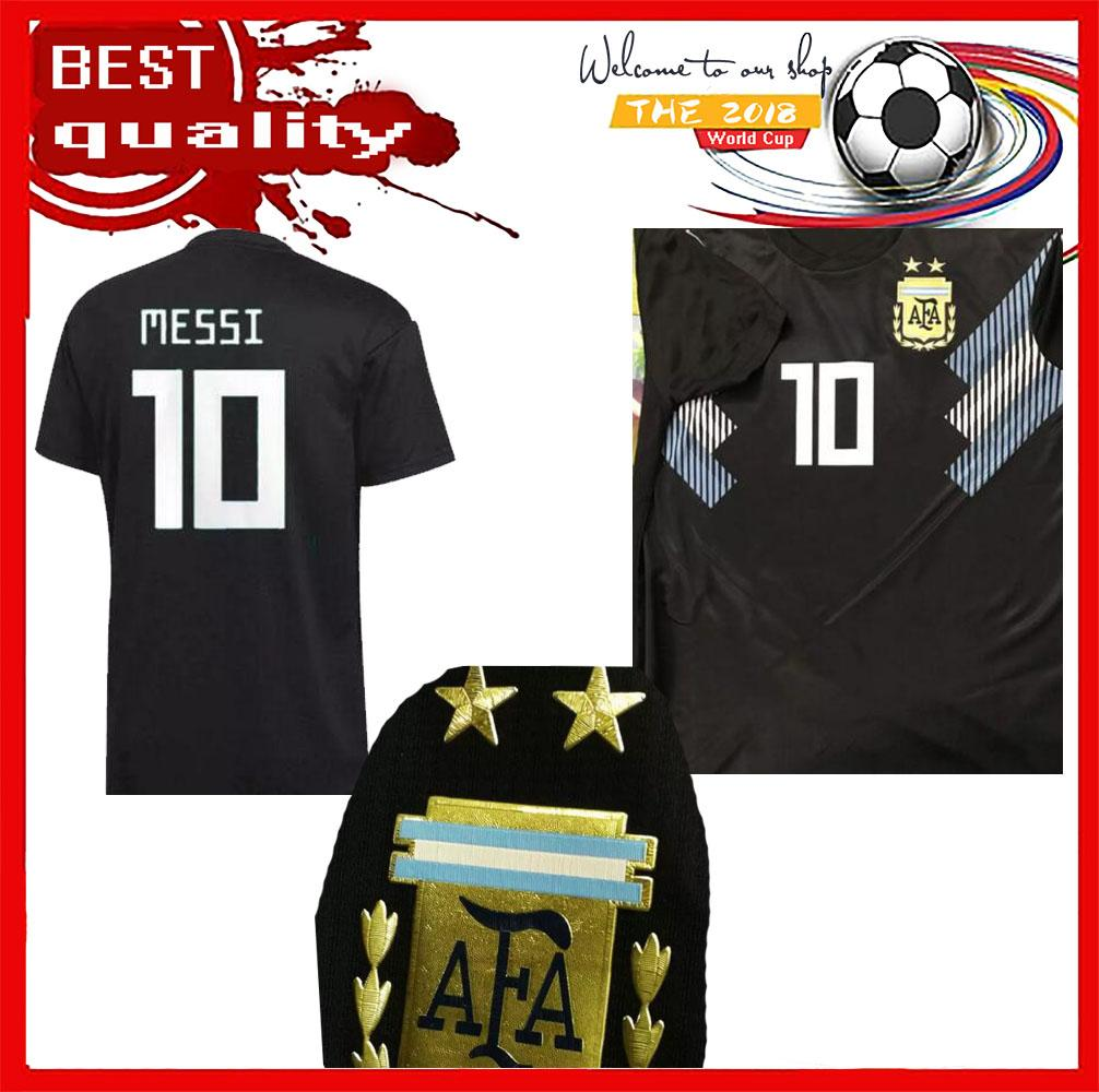 b664cc407a7 TOP QUALITY 2018 World Cup Argentina Home Soccer Jersey ICARDI MESSI ...