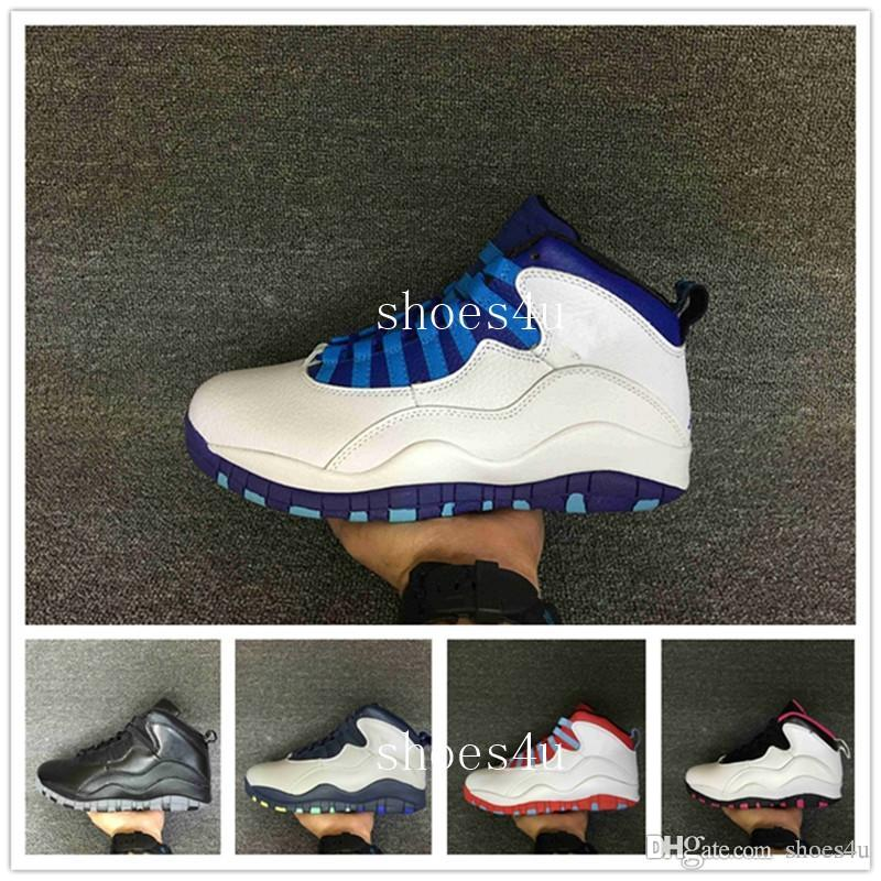47d9242ac9e1 With Box Hot Sale Top Quality Cheap 10 30TH DS GS White DOUBLE NICKEL  Chicago Men Basketball Shoes US 5.5-13 Online with  111.81 Pair on  Shoes4u s Store ...