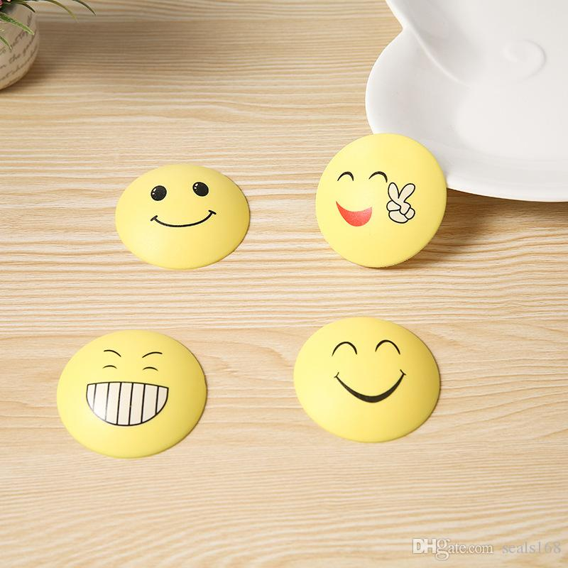 2018 Expression Emoji Round Corner Protectors Corner Cushions For Glass Tables Or Shelves With 3M Sticker Baby Safe DHL Free HH7-862