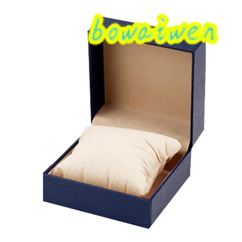 bowaiwen #0065 Durable Present Gift Hard Case For Bracelet Bangle Jewelry Watch Box populirity