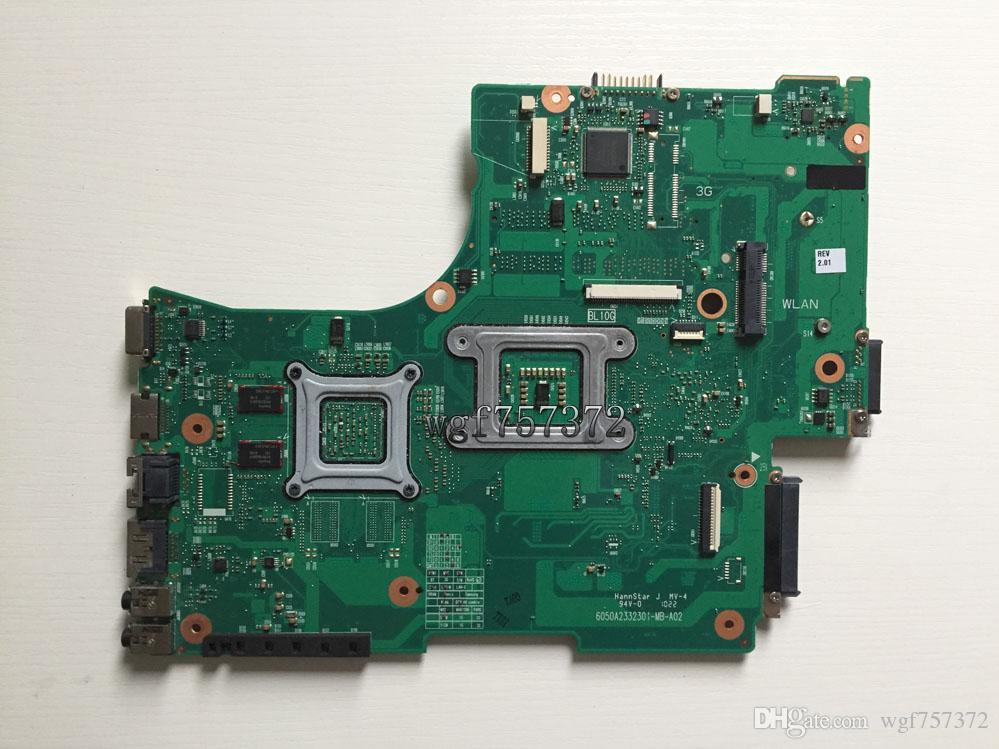 For Toshiba Satellite L650 L655 Laptop Motherboard V000218030 6050A2332301-MB-A02 Intel HM55 ATI System Board