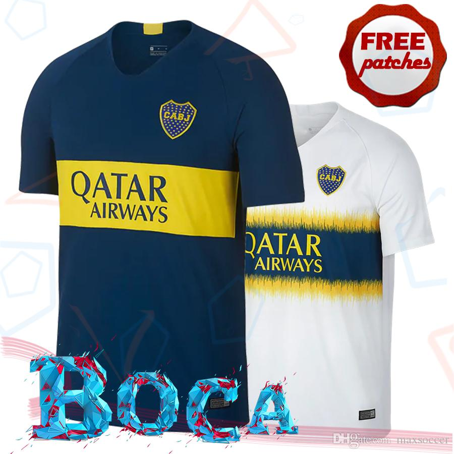 2019 Top Thai Quality Boca Juniors CABJ 2018 2019 Home Away Soccer Jerseys  TEVEZ PAVON PEREZ GAGO OSVALDO CARLITOS Camisa De Football Shirts From  Maxsoccer f3f0ecfda