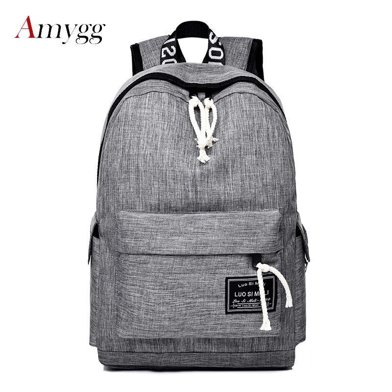 257eaf85bf 2019 Fashion Nylon Women Backpack Multicolor Casual School Bag For Teenager  Girls Female Laptop Travel Backpack Sac A Dos Mochila Feminina Rucksack  Backpack ...