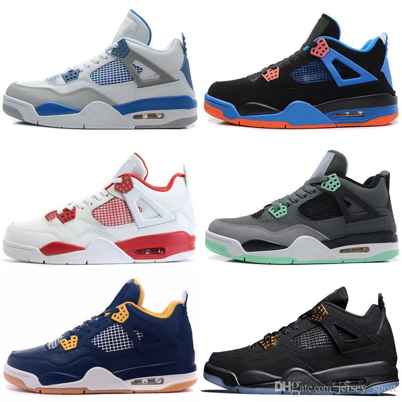 4 4s Travis Scotts Cactus Jack Mens Basketball Shoes Raptors Kaws ... 721d9e8b6