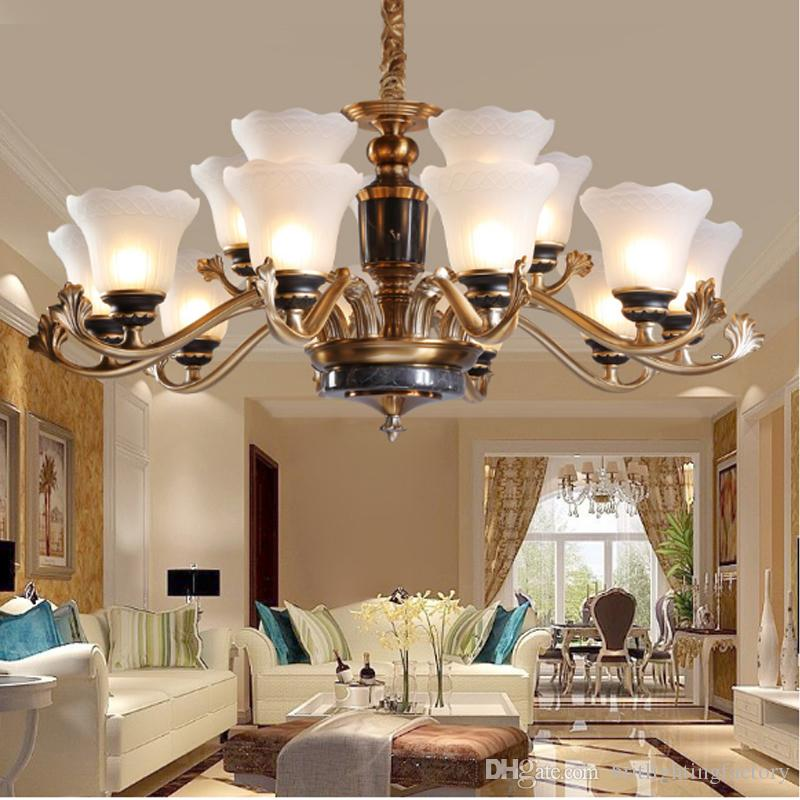 Modern Chandelier Lighting Living Room Led Chandeliers Crystal Lamp  Restaurant Bedroom Lamp Candle Pendant Lamp Modern Hanging Chandelier  Chandelier ...