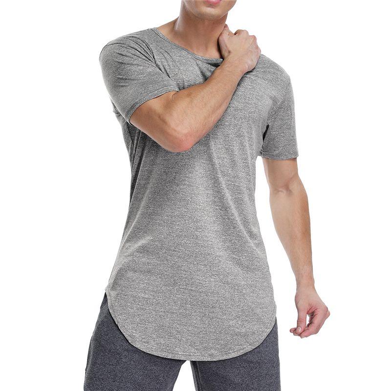 f418aa25 2019 Mens Workout Shirts Gym Tee Shirt Short Sleeve T Shirt Sport Homme  Tshirt Short Sleeve Sport Shirts Fitness Men Running T From Hcaihong, ...