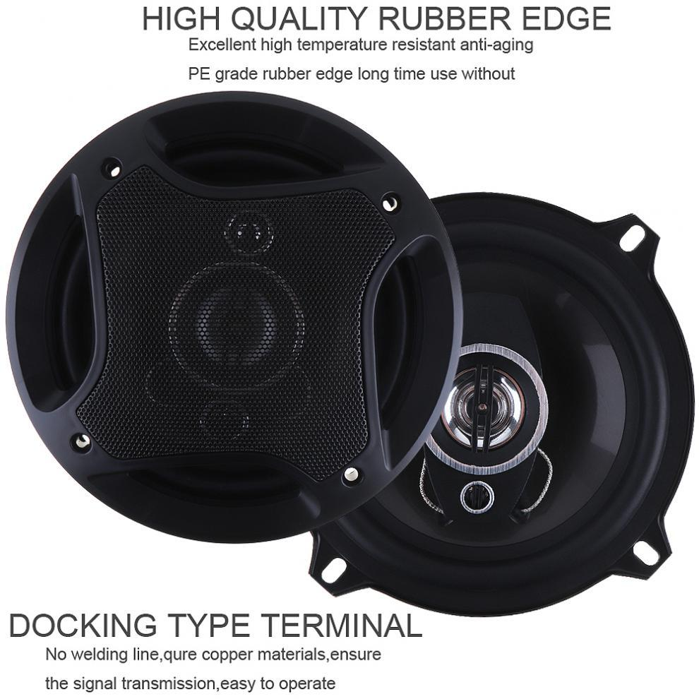 Car Audio Speakers 5 Inch 120W 3 Way Car Hifi Speaker Coaxial Horn Full  Range Frequency Auto Automobile Audio Music Stereo Car Hifi Speaker Speaker  Coaxial ...
