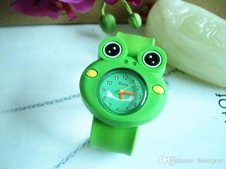 귀여운 소년 소녀 소년 만화 시계 신부 슬랩 아이 소녀 소녀 소년 손목 시계 실리콘 젤리 어린이 스포츠 시계