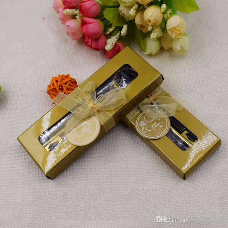 2018 Key To My Heart Collection Wedding Gift Gold Metal Key Chain