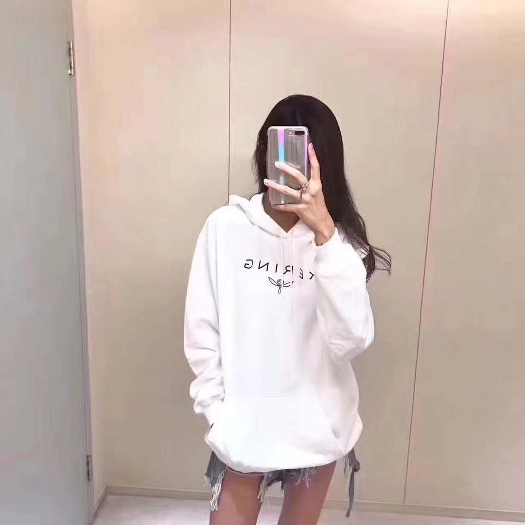 2019 2018 Women Hoodies Pairs Sweatshirt Men Autumn Winter Fleece