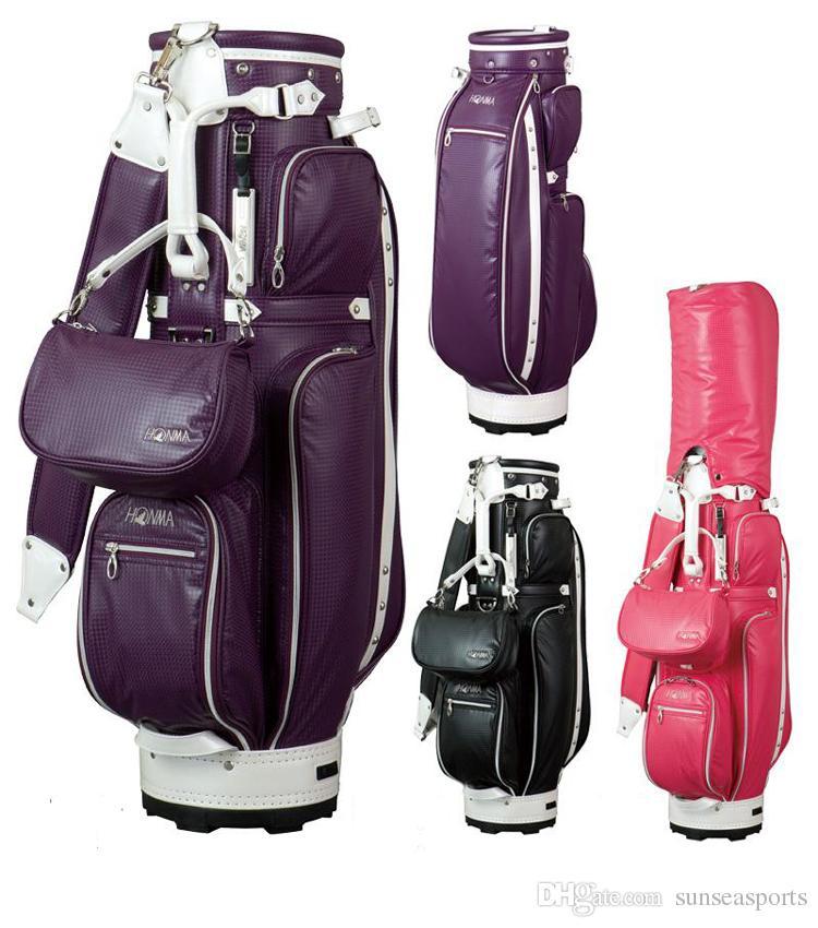 Honma Ladies Golf Bag Pu Golf Cart Bag Waterproof Ultra