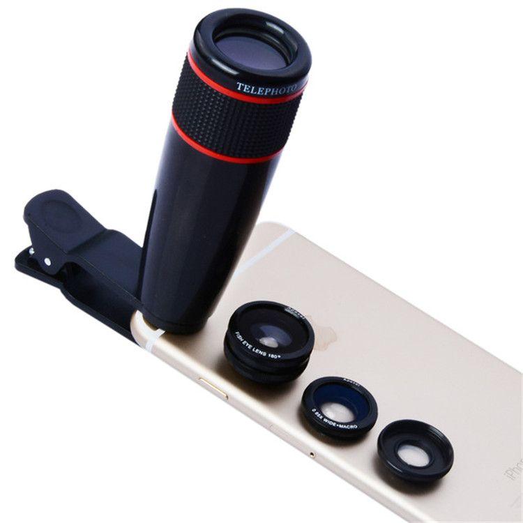 huge discount e8e72 08979 12X Optical Zoom Camera Telephoto Lens Phone Telescope For IPhone X 8 7 6S  12X Lens For Samsung