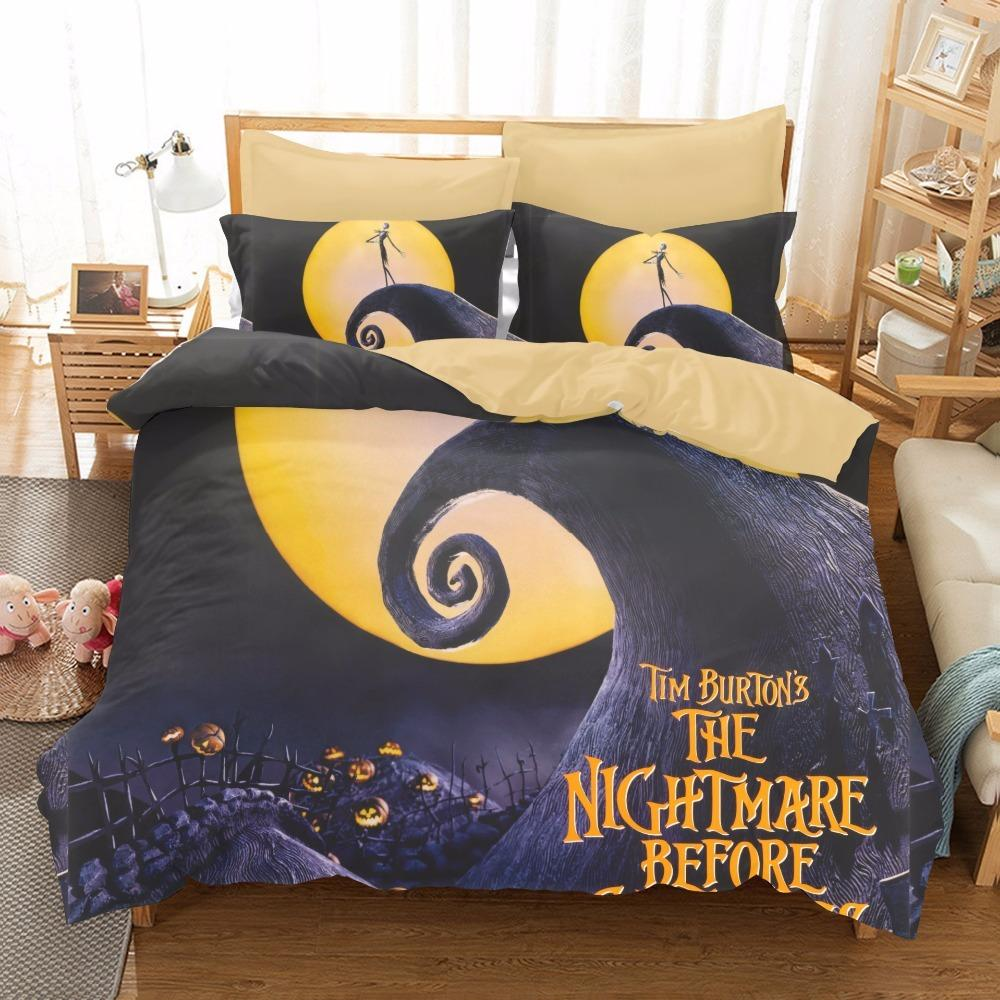 The Nightmare Before Christmas Bedding Set Qualified Bedclothes ...