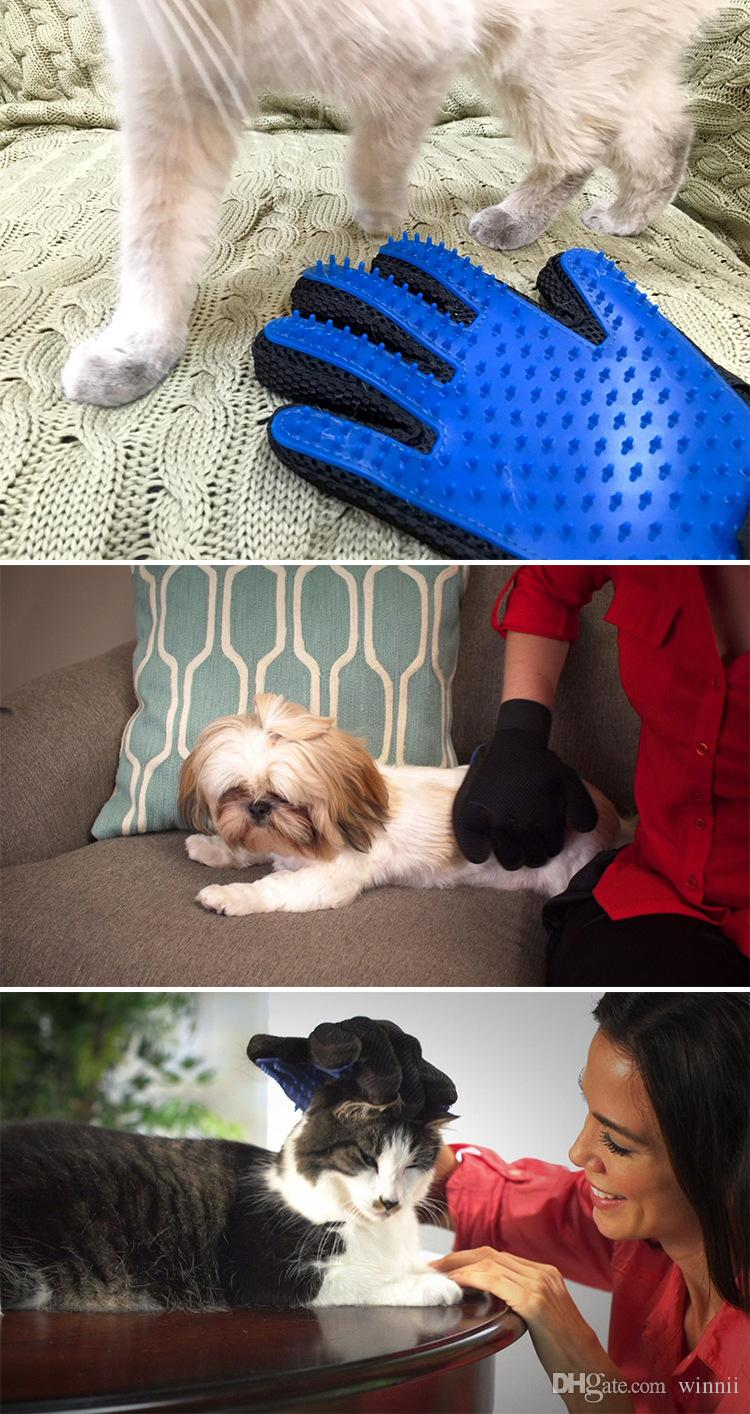 New Pet Bath Gloves Cats & Dogs Universal Cleaning Massage Brushes Light Removal Cleaning Tools