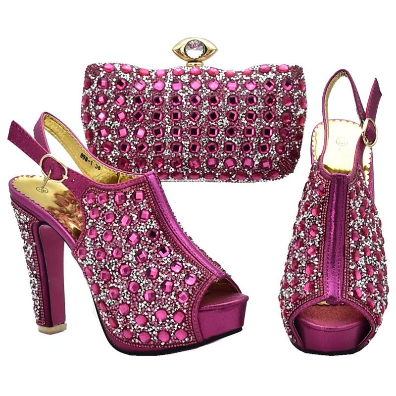 Latest African Matching Shoes And Bags Italian In Women Shoes with ... e2810cace624