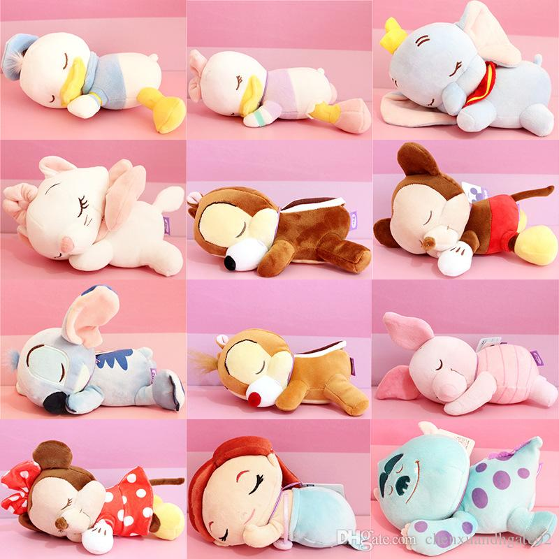 2018 New High Quality Brand 20cm Cute Cartoon Plush Toys stuffed animals doll toys Best Christmas Gifts for Baby Girls Boys