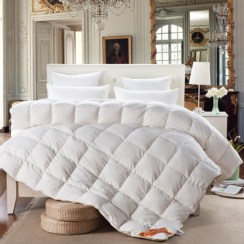 Wholesale Svetanya White Goose Down Quilt Luxury Quilting Duvet