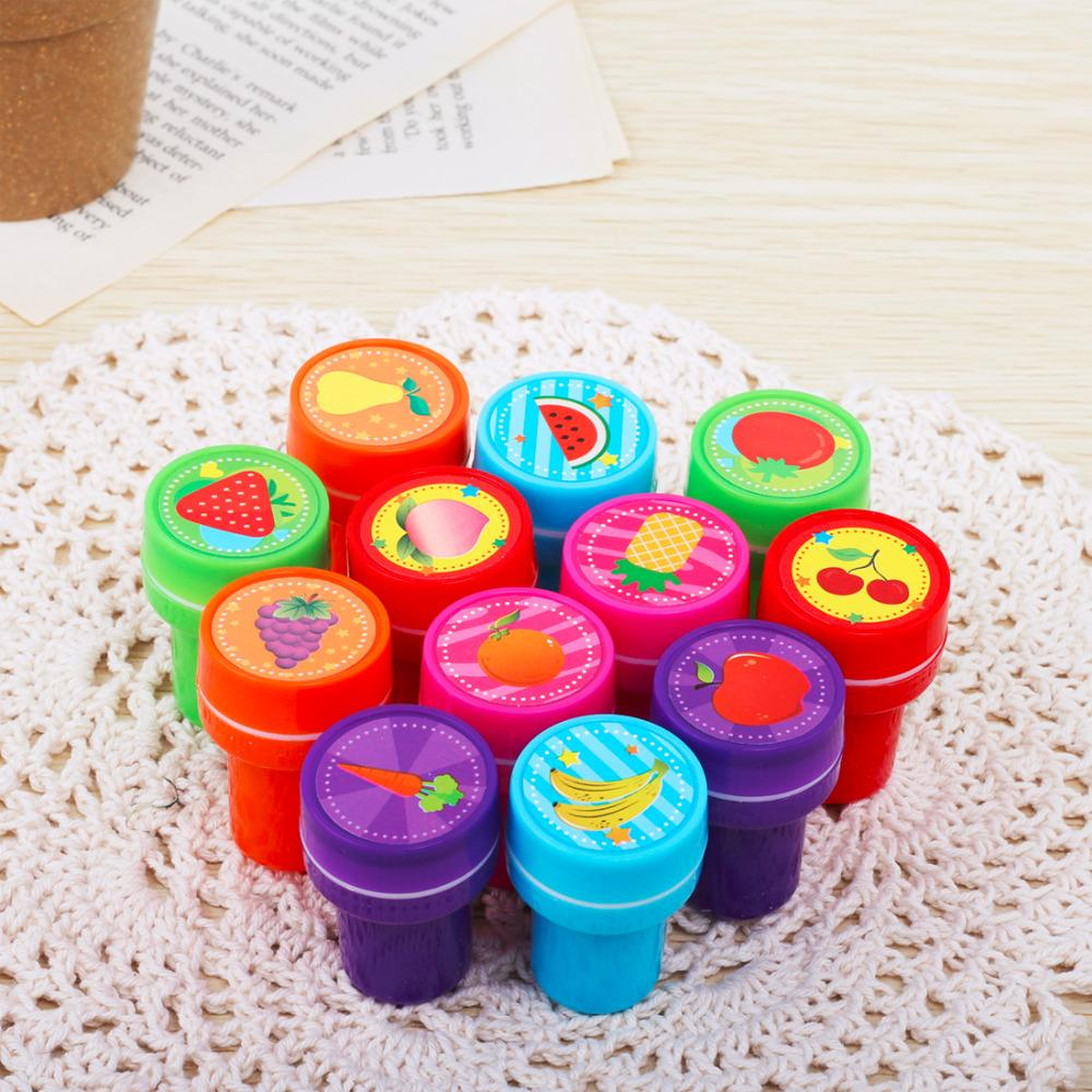 Gift Self-ink Stamps Kids Party Favors Event Supplies for Birthday Party Toys Boy Girl Goody Bag Pinata Fillers