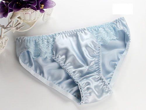 المرأة الحرير الخالص سراويل مثير 100٪ ملخصات الحرير لسيدة الملابس الداخلية مع الدانتيل الشحن عالية الجودة مجانا
