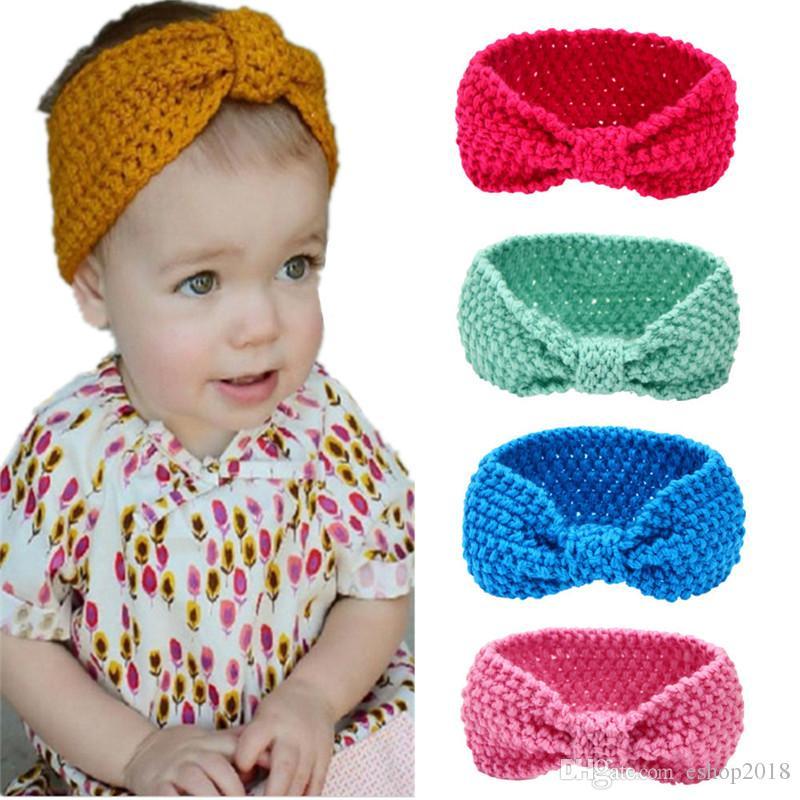 Kawaii Baby Headbands Girls Head Wrap Hair Bands Ears Warmer Baby