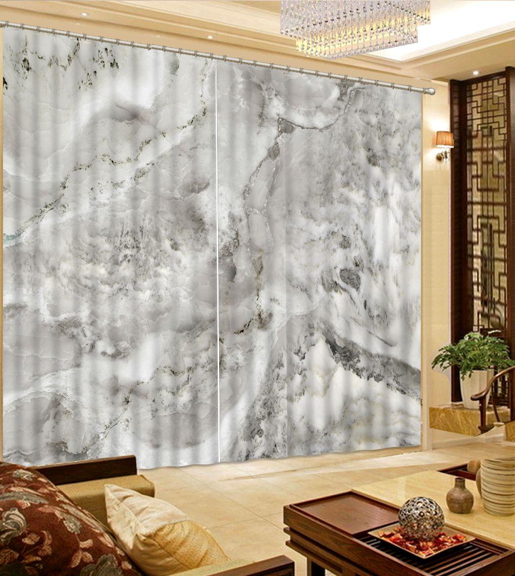 Europäische Vorhänge Fenster Dekoration Marmor Einfachen Vorhang Wohnzimmer Vorhänge Kinder Schlafzimmer