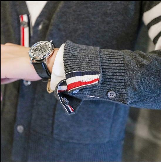 Mode Automne Automne Hommes Chandails De Noël Mâle Col V D'hiver Cardigan Hommes Tricots Mince Casual Pullover Vêtements Pour Hommes SX 008