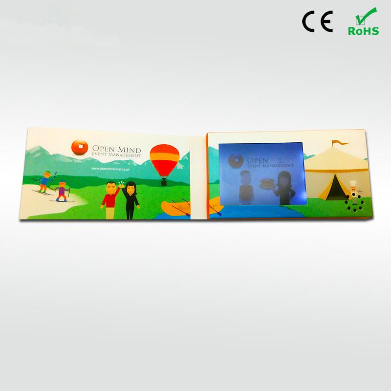 Professional customized 24 inch video brochure video greeting card professional customized 24 inch video brochure video greeting card screen cards for advertising propagandahyh 3024 mp3 16gb mp3 bluetooth player from m4hsunfo